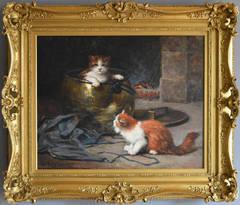The Copper Cauldron, oil on canvas