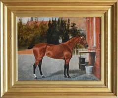 Pallas, oil on canvas
