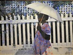 """White Umbrella"""