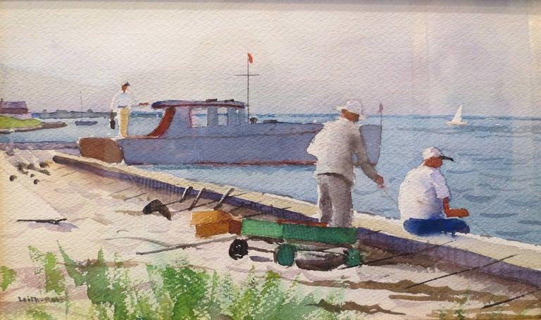 """Harry Leith-Ross Landscape Art - """"Souvenir of Fire Island"""""""