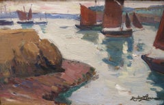 """Boats in Harbor"""