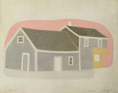 """Massachusetts House and Barn"""