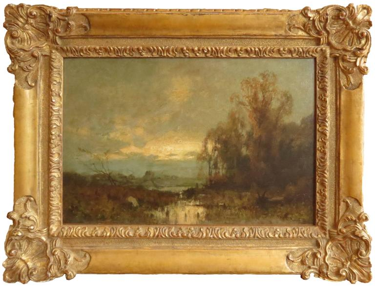 "John Francis Murphy Landscape Painting - ""After the Rain"""