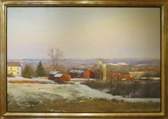 """Snow Squals, Parmelee Farm"""