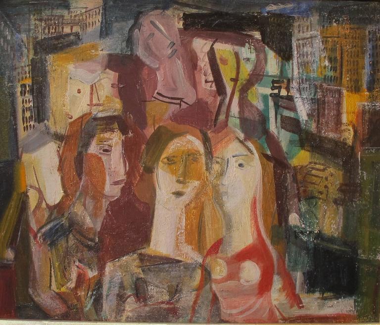 """""""The Evening Crowd, Manhattan"""""""