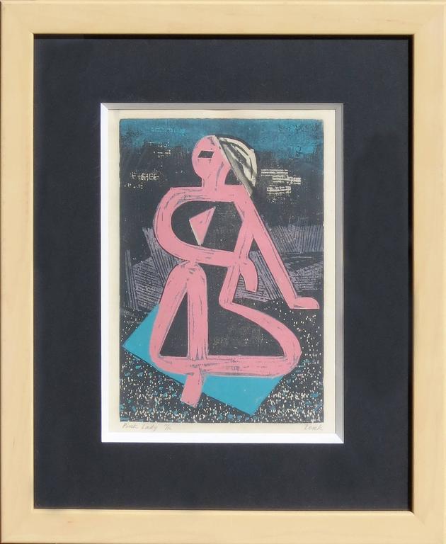 """Josef Zenk - """"Pink Lady"""" 1"""
