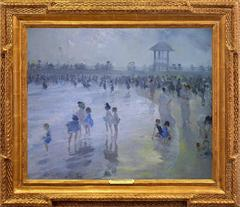 """Late Afternoon at Brighton Beach"""