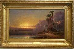 """Palms At Sundown """