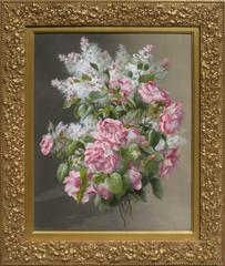 """""""Pink Roses & Lilac Melange"""""""