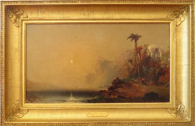 Franklin D. Briscoe Landscape Painting - Greek Ruins