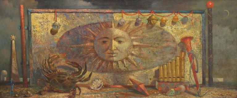 Paul Riba Still-Life Painting - Zodiac