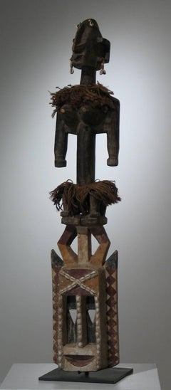 Dogon Mask with Figure