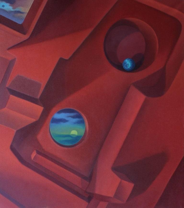 John Nativio Landscape Painting - Intergalactic Memory