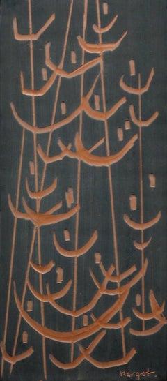 Ceramic Reeds in Counter-Relief