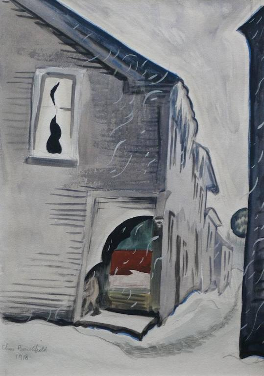 Charles Burchfield January Snow