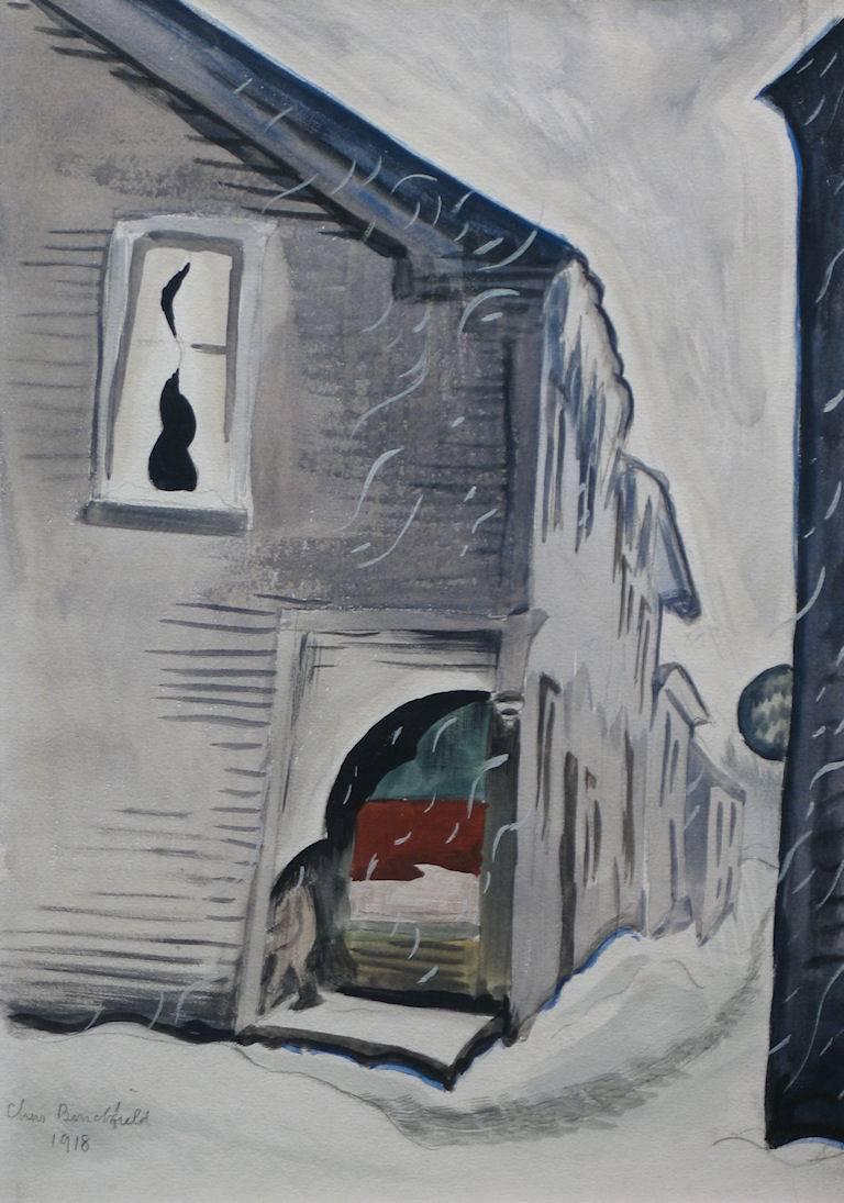 Charles Burchfield January Snow