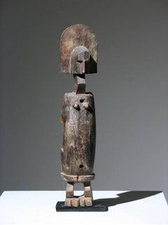 African Bamana Door Lock Figure