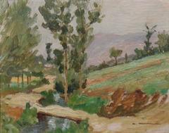 Italian Landscape by Madanni