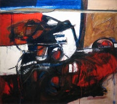 Abstract Horse and Rider