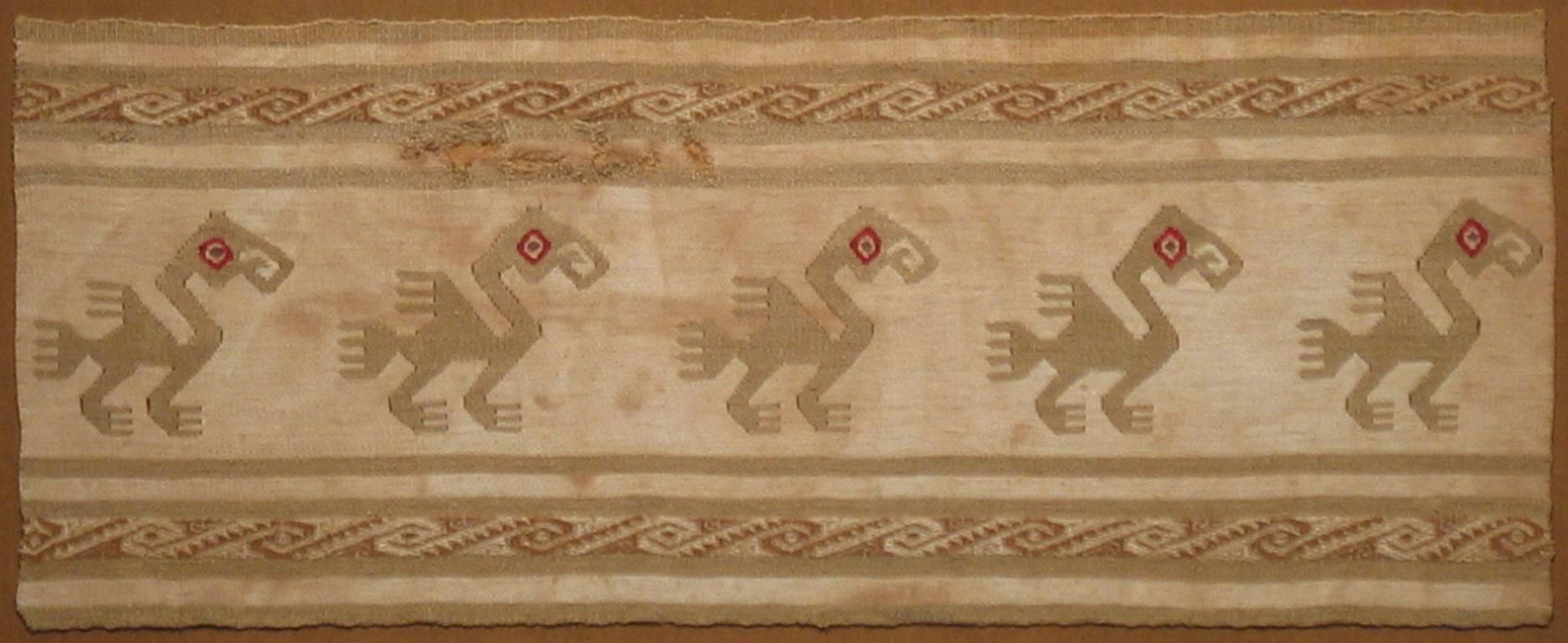 15th Century South American Textile
