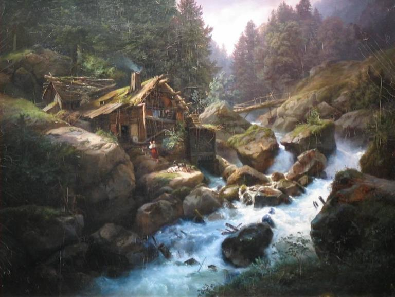Cabin on the River