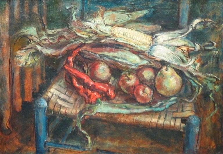 Kenneth Marcus Hugh Still-Life Painting - Autumn Harvest