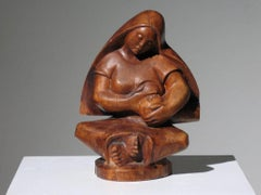 Mexican Modernist Madonna and Child