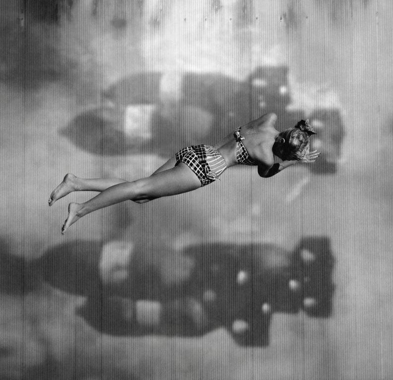 Preston Buchtel Black and White Photograph - Dreams During Wartime IV