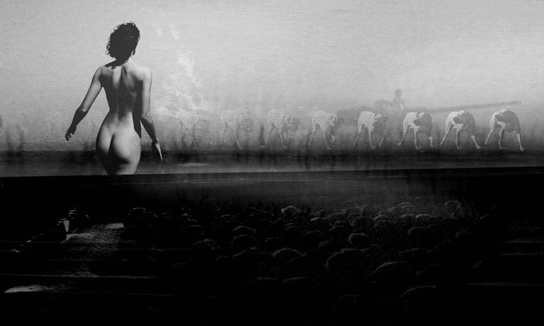 Preston Buchtel Nude Photograph - Resistance
