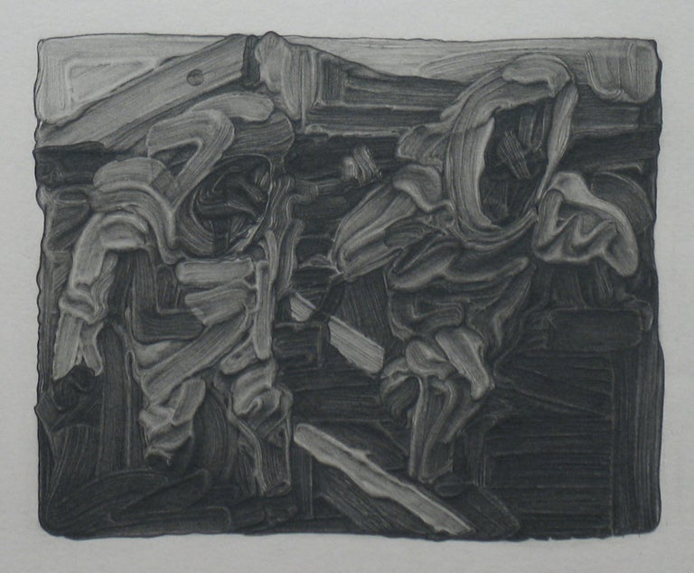 Jane Millican Abstract Drawing - Exercise