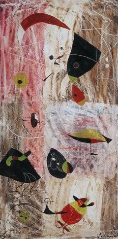 Miro/Klee Style Abstract