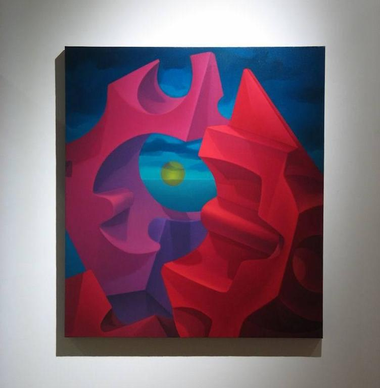 Atomic Cadmium Fission  - Painting by John Nativio