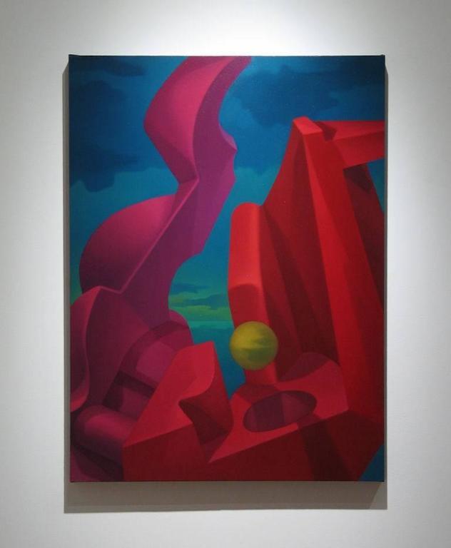 Anti-Gravity - Painting by John Nativio