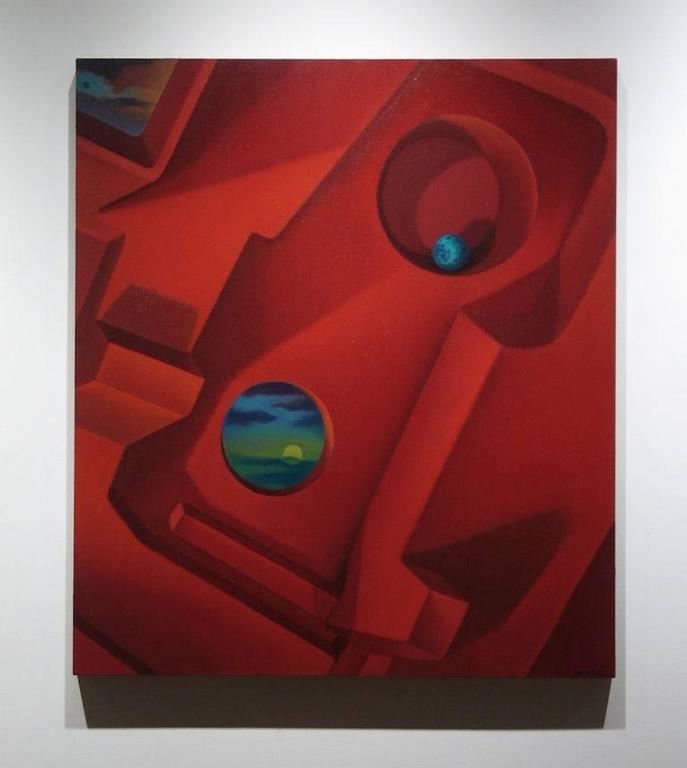 Intergalactic Memory - Painting by John Nativio