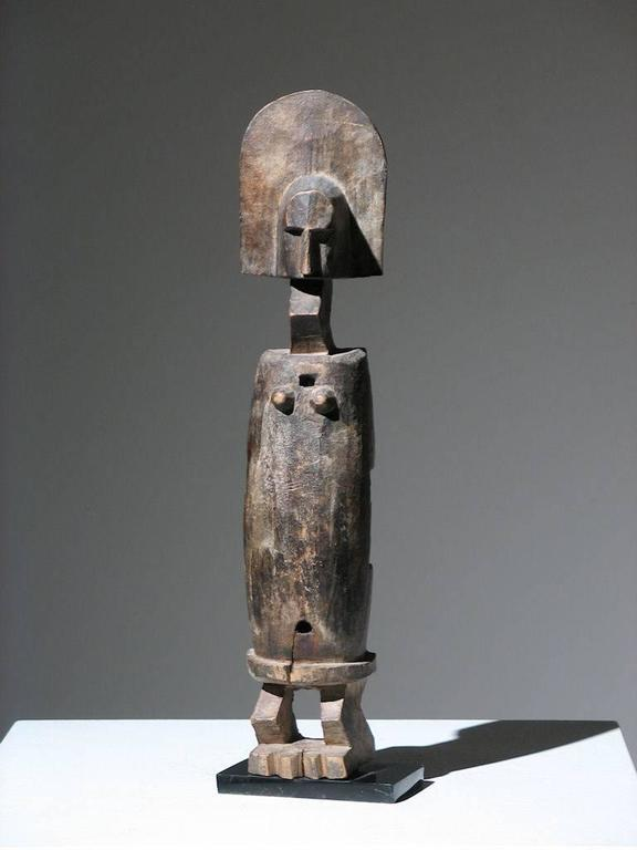 Unknown African Bamana Door Lock Figure Sculpture For