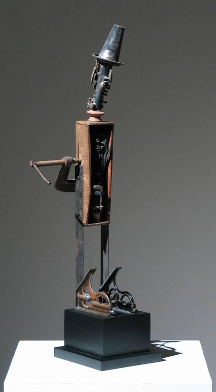Muse - Sculpture by Adnan Charara