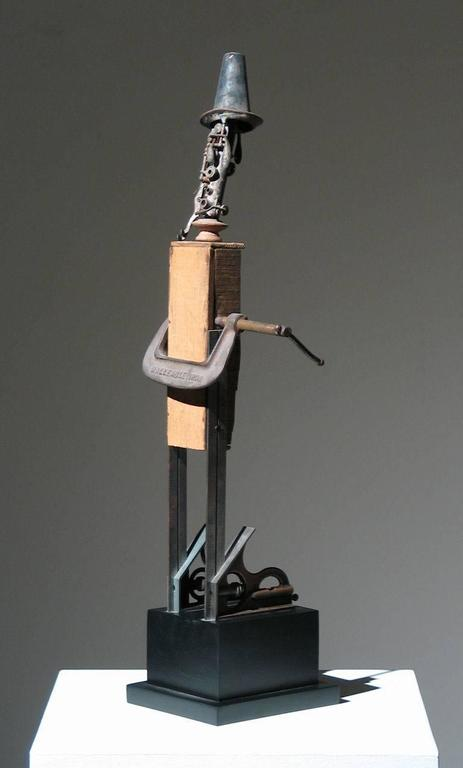 Muse - Brown Figurative Sculpture by Adnan Charara