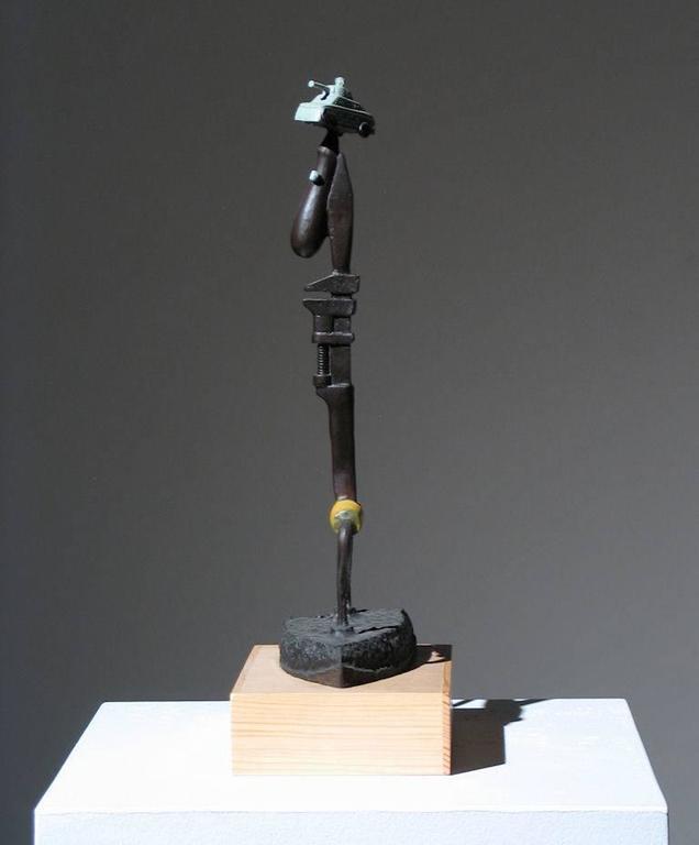 Iron Man Found Art Sculpture For Sale 1