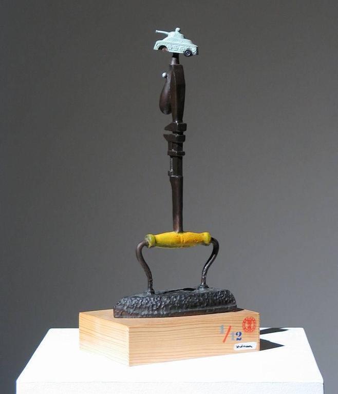 Iron Man Found Art Sculpture For Sale 2