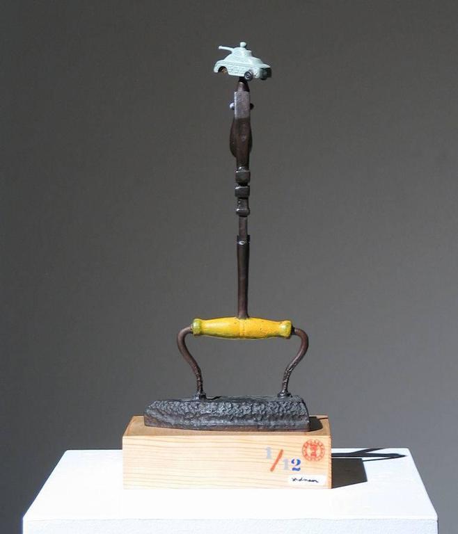 Iron Man Found Art Sculpture For Sale 3