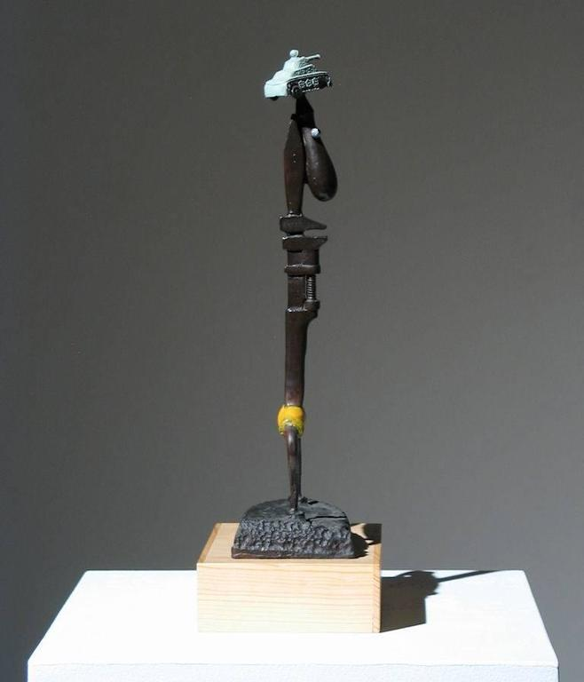 Iron Man Found Art Sculpture For Sale 5