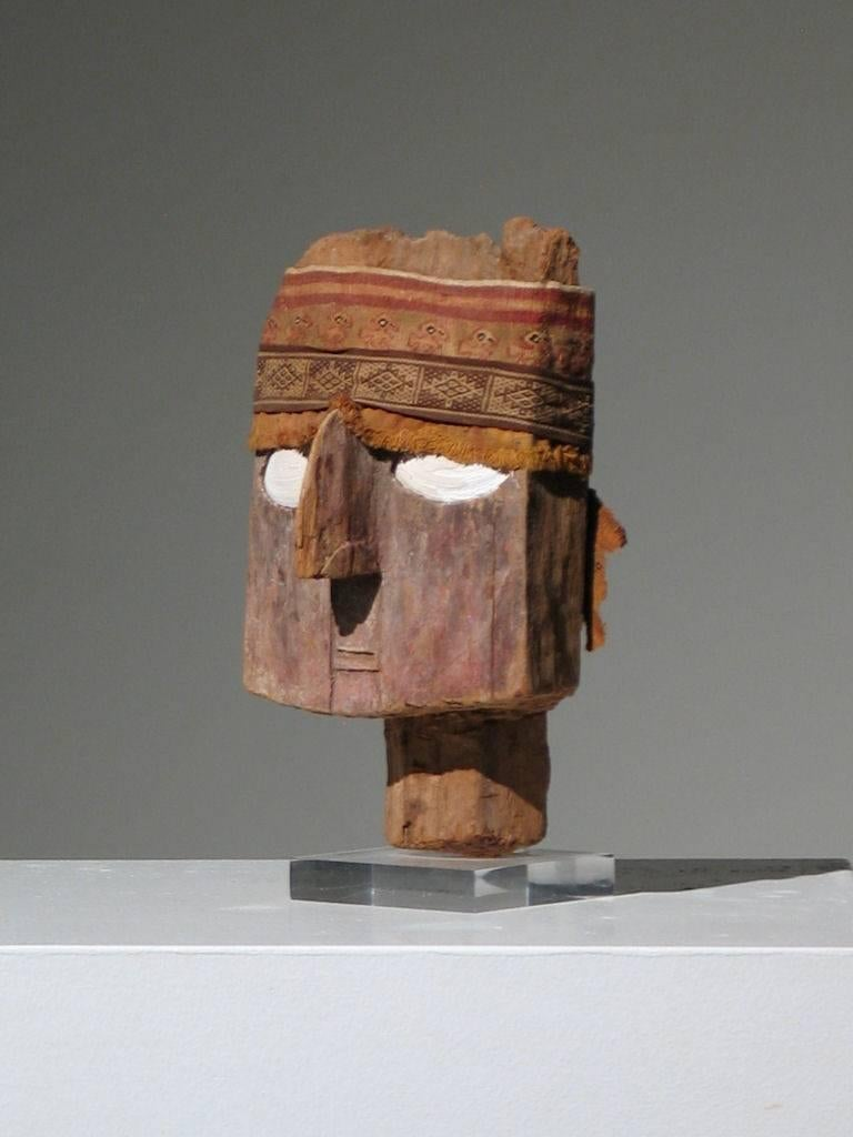 Chancay Mummy Mask For Sale 3