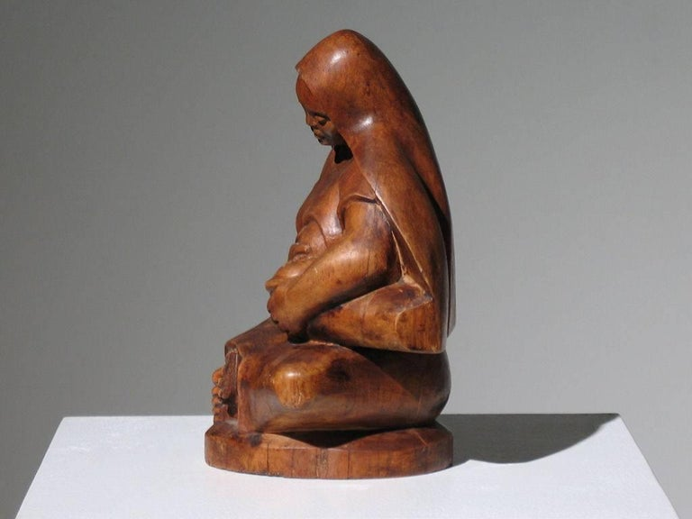 Mexican Modernist Madonna and Child For Sale 2