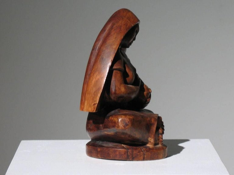 Mexican Modernist Madonna and Child For Sale 6