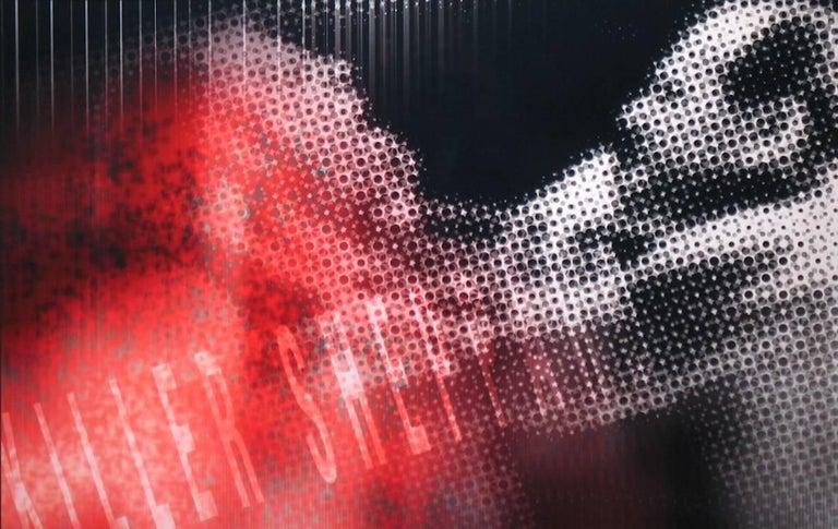 Ryn Clarke Abstract Print - Killer Sheppard