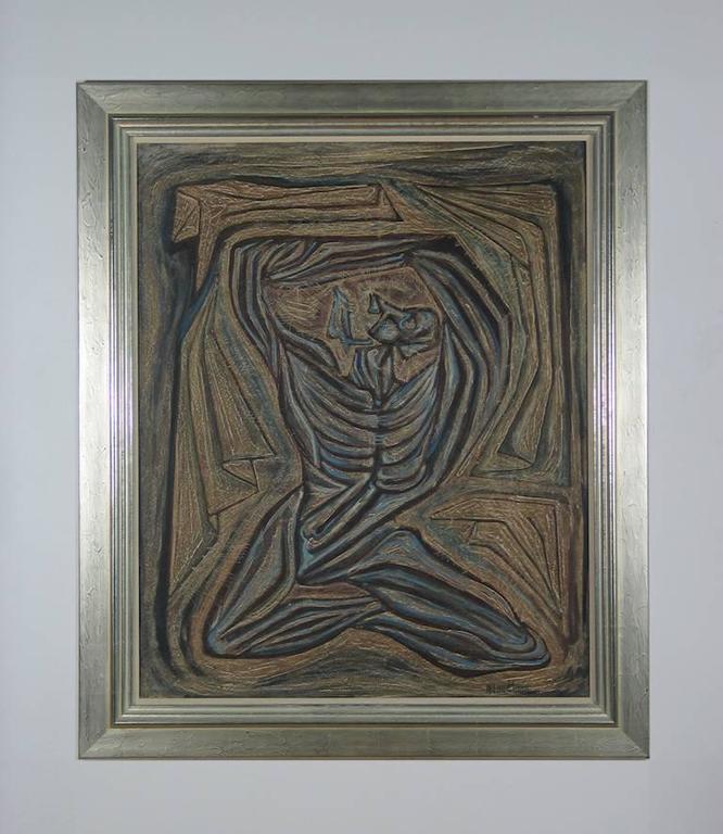 Esclavo - Painting by Jose Maria de Servin
