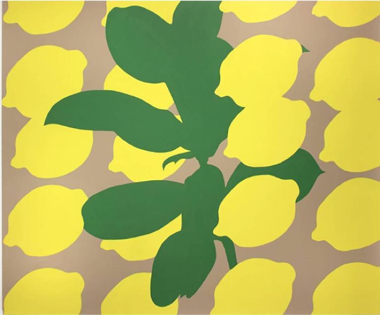 Stephen D'Onofrio Abstract Painting - Lemon Basil