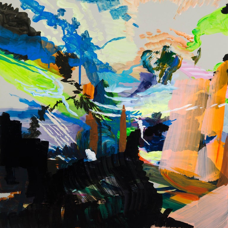 Arden Bendler Browning Abstract Painting - Upward Climb