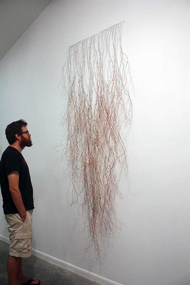Filament - Contemporary Sculpture by Jessica Drenk
