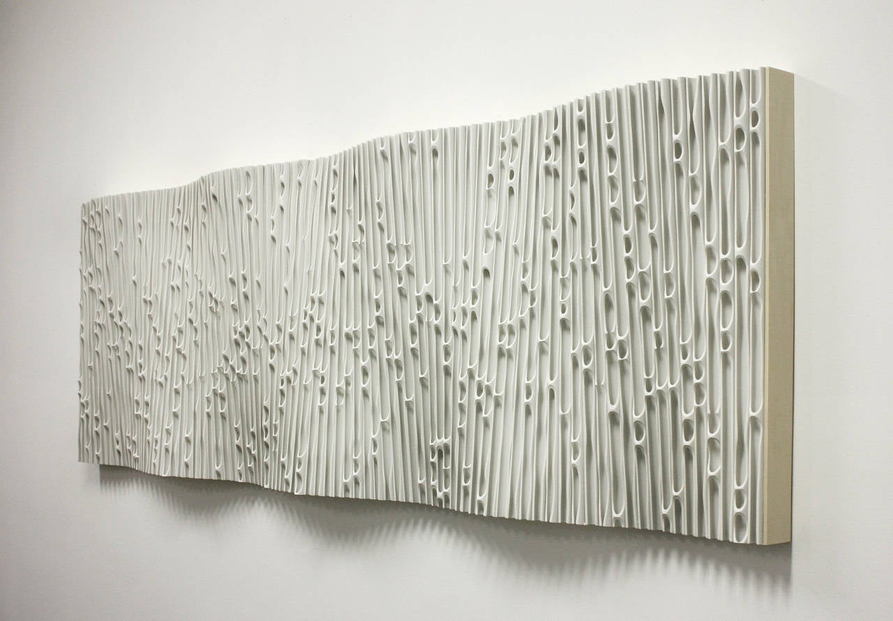 Wave 4 - Sculpture by Jessica Drenk
